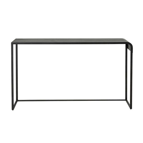 Lexon Console Table - Black Powder Coated Steel