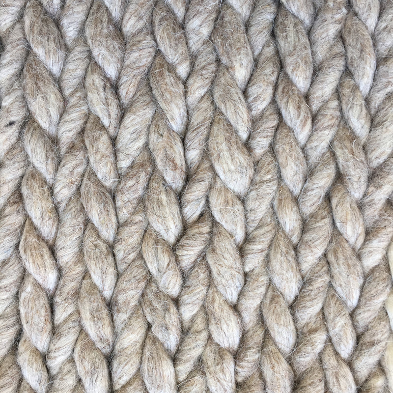 Lux - Hand Braided Rug - 100% NZ Wool