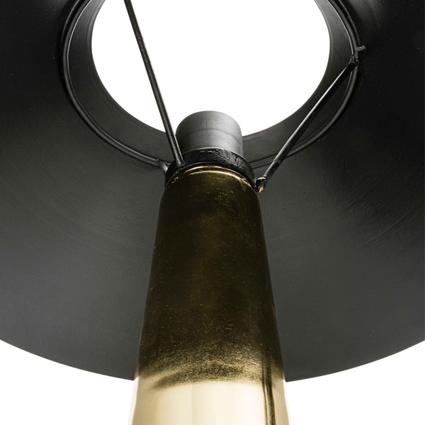 Luna Table Lamp - Brass and Black