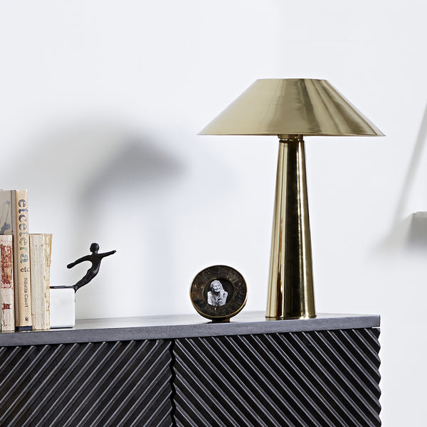 Luna Table Lamp - Brass