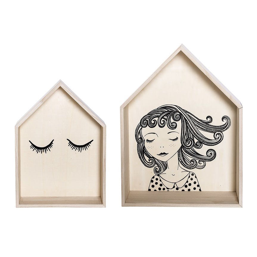 BLOOMINGVILLE Mini Display Box Set of 2