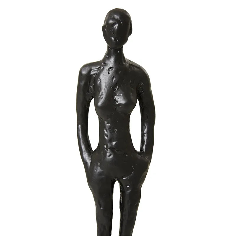 Modernist Female Abstract Sculpture