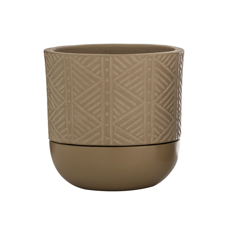 Rodwell and Astor Navaho Planter - Yellow Ochre
