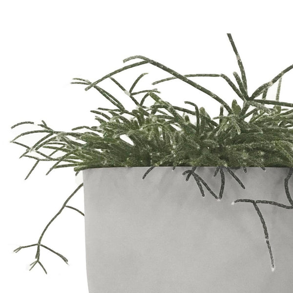 MRD HOME Nell Planter - Pale Grey