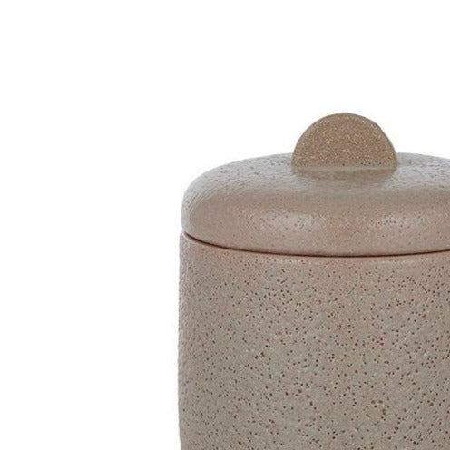 Aline Ceramic Jar - Nude
