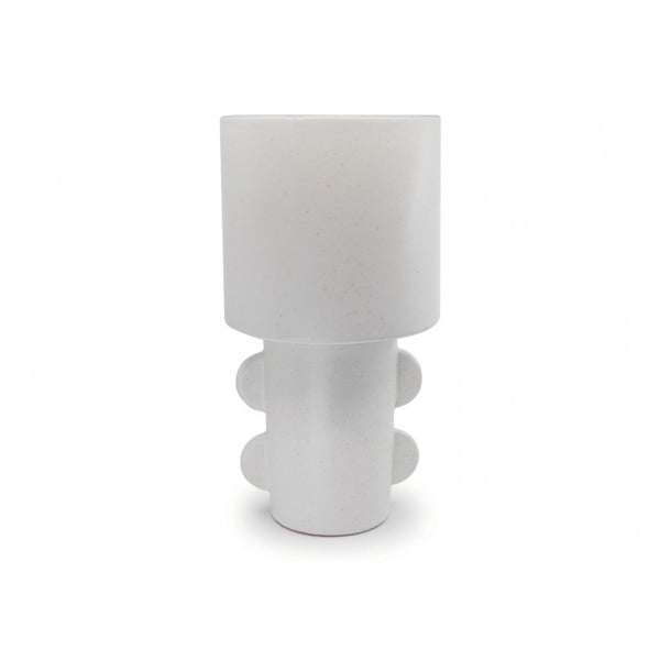 Salt & Pepper Refine Totem Planter - White