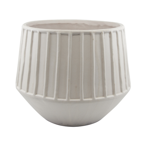 Salt & Pepper Refine Planter - Grey