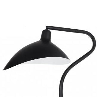Spida Table Lamp - Black Metal