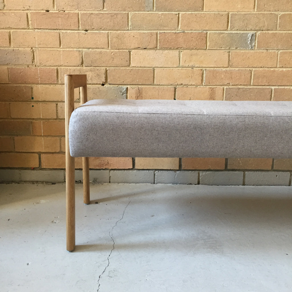 Stadium Bench Seat - Oak