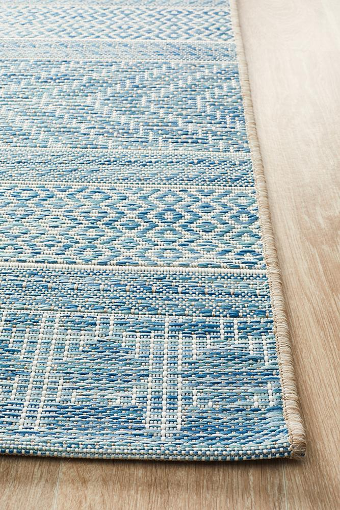 Terrace Braid - Indoor/Outdoor Rug - Blue