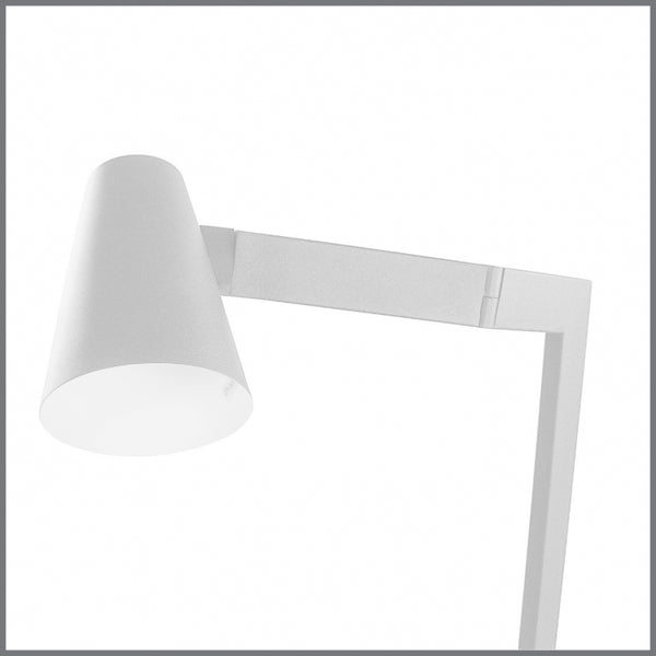 Tilt Floor Lamp - White