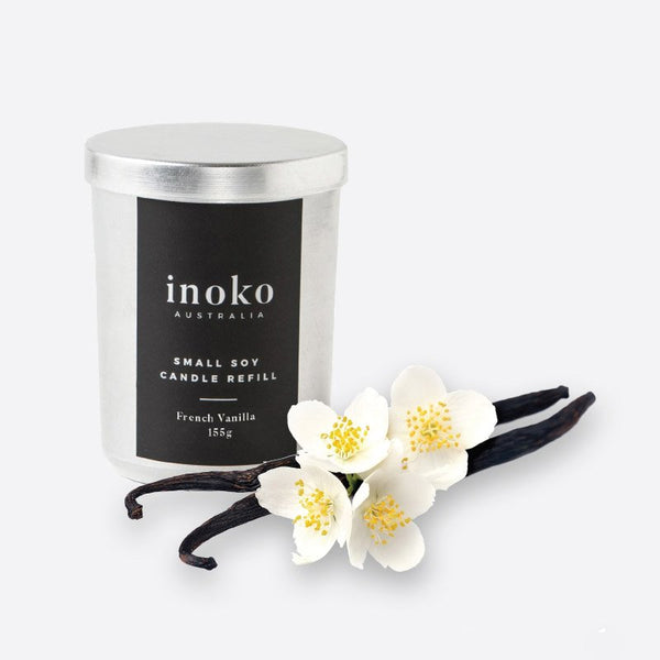 INOKO Soy Candle - Warm Vanilla Wood 30hr