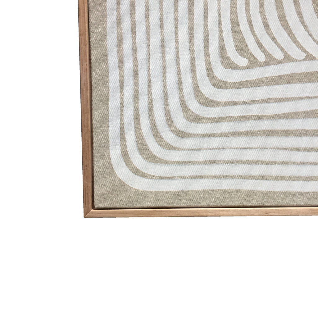 White Line on Linen - Limited Edition Fine Art Print