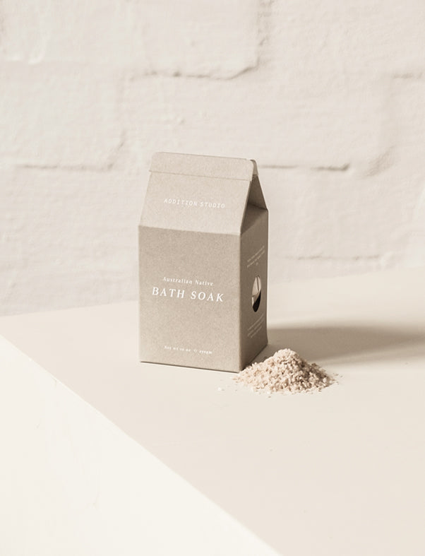 ADDITION STUDIO - Australian Native Bath Soak - Carton