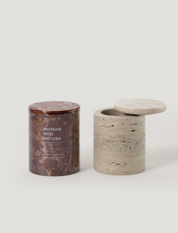 Addition Studio - Australian Native Body Scrub - Stone Jar