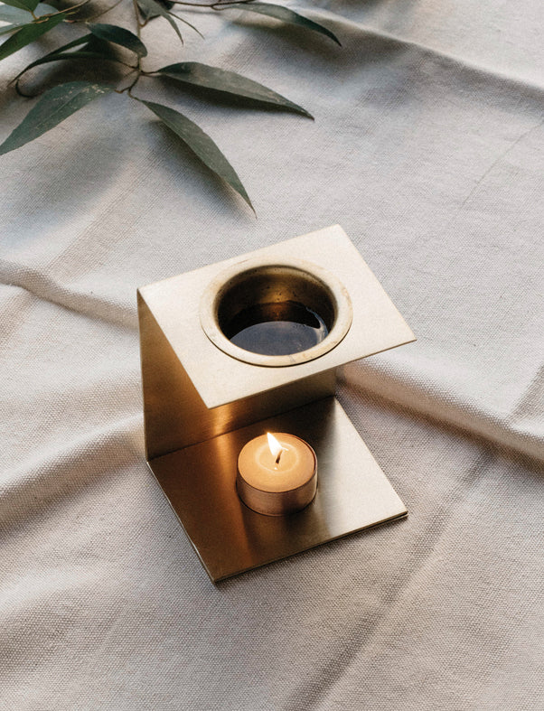 Addition Studio - Brass Essential Oil Burner