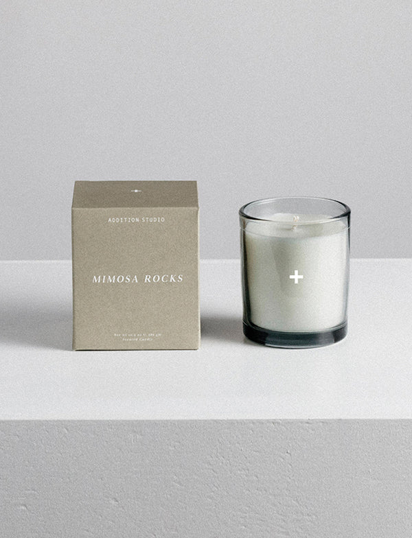Addition Studio - Mimosa Rocks - Scented Candle 48Hr