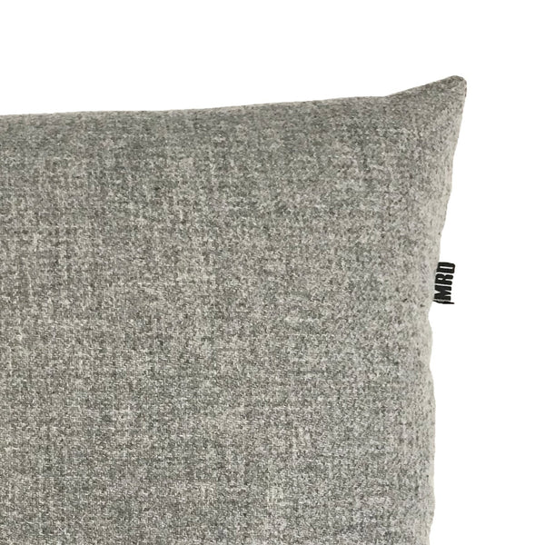 MRD HOME Alvin Cushion - Pure Wool - Grey