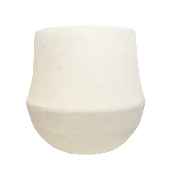 MRD HOME Ana Planter - Chalk - Large