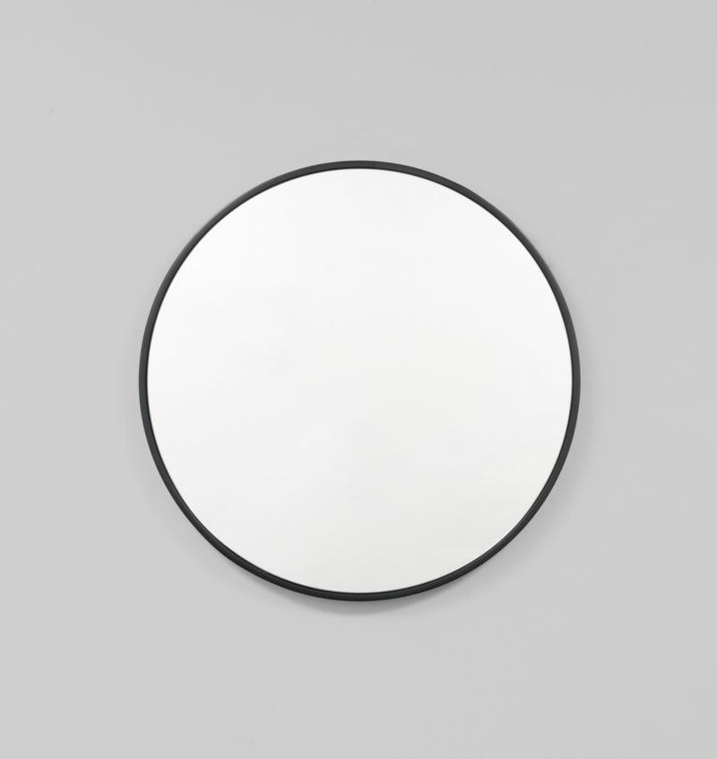 MIDDLE OF NOWHERE Bella Round Mirror - Black