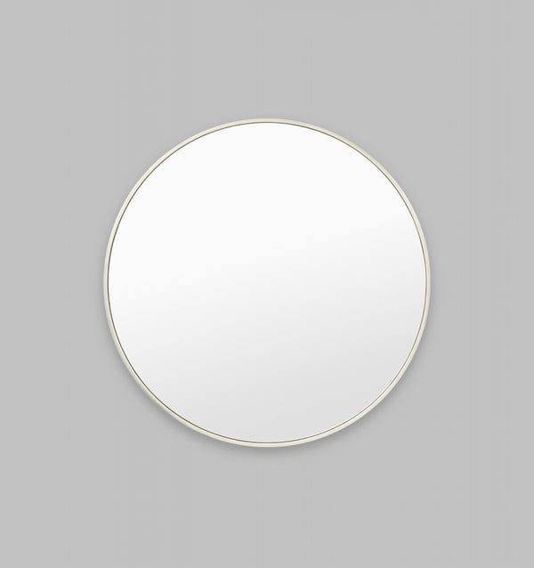 MIDDLE OF NOWHERE Bella Round Mirror - Silver