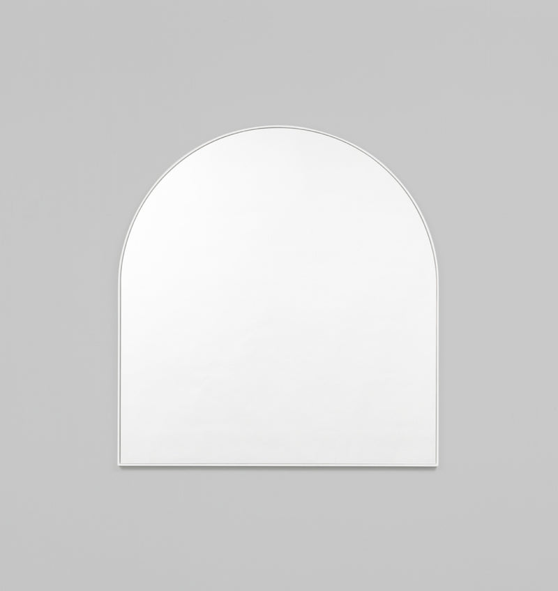 MIDDLE OF NOWHERE Bjorn Arch Mirror - Bright White
