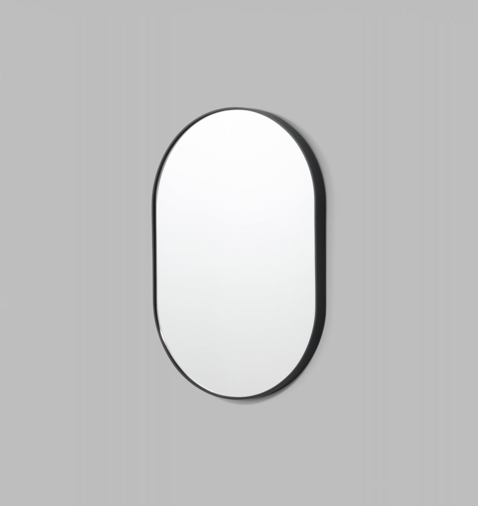 Bjorn Oval Mirror - Black - 3 Sizes Available