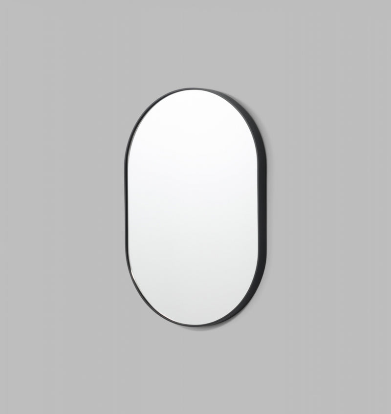 MIDDLE OF NOWHERE Bjorn Oval Mirror - Black - 3 Sizes Available