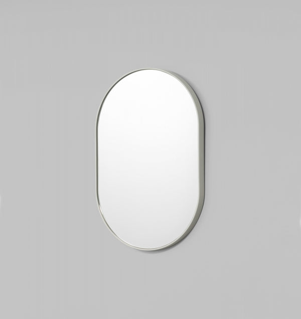 Bjorn Oval Mirror - Dove - 3 Sizes Available