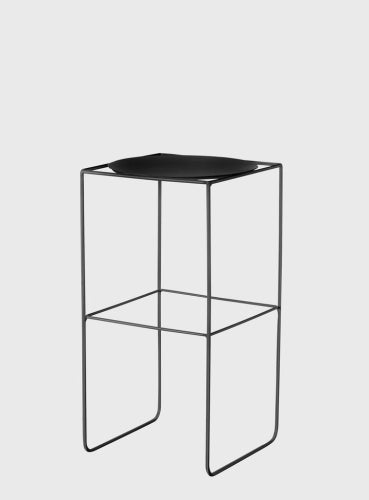 EVERGREEN COLLECTIVE Alto Pot Stand - Tall - Black