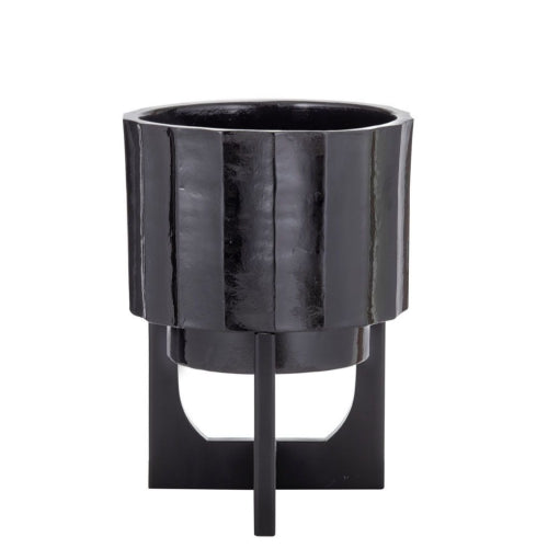 ARMAN PLANTER POT WITH STAND - SMALL
