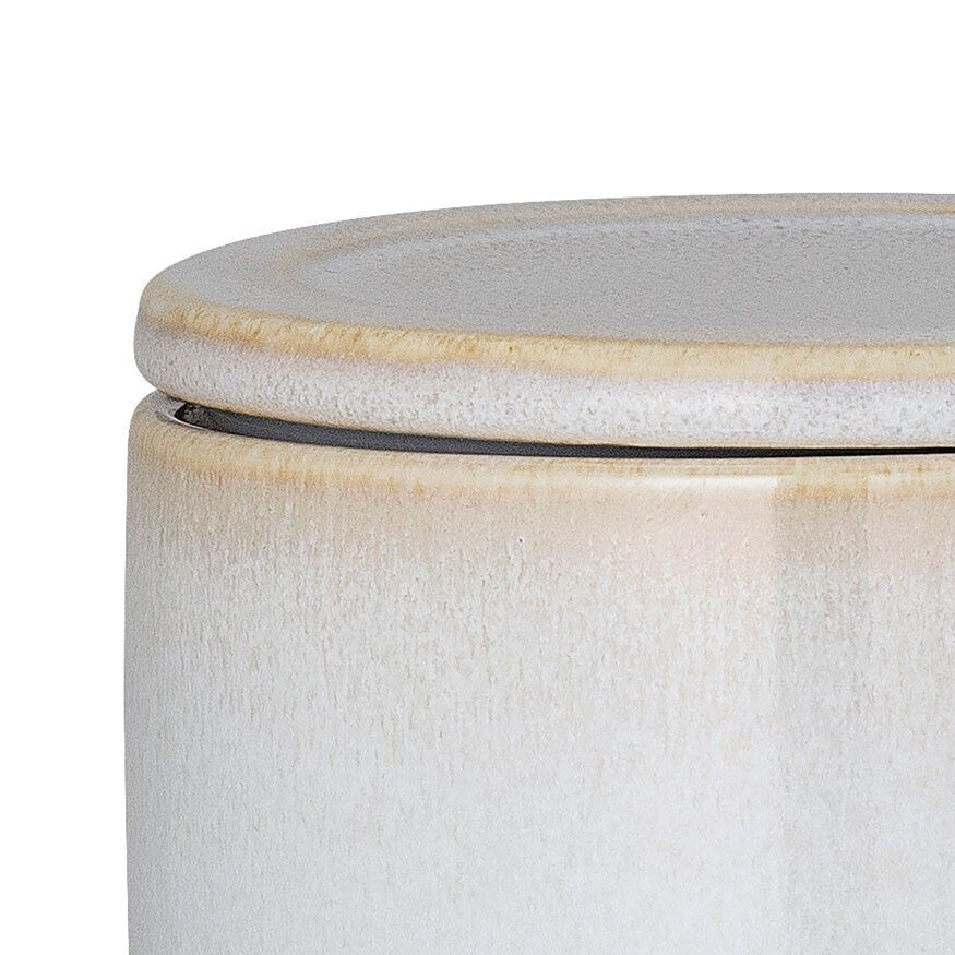 BLOOMINGVILLE Carrie Jar w Lid - Natural