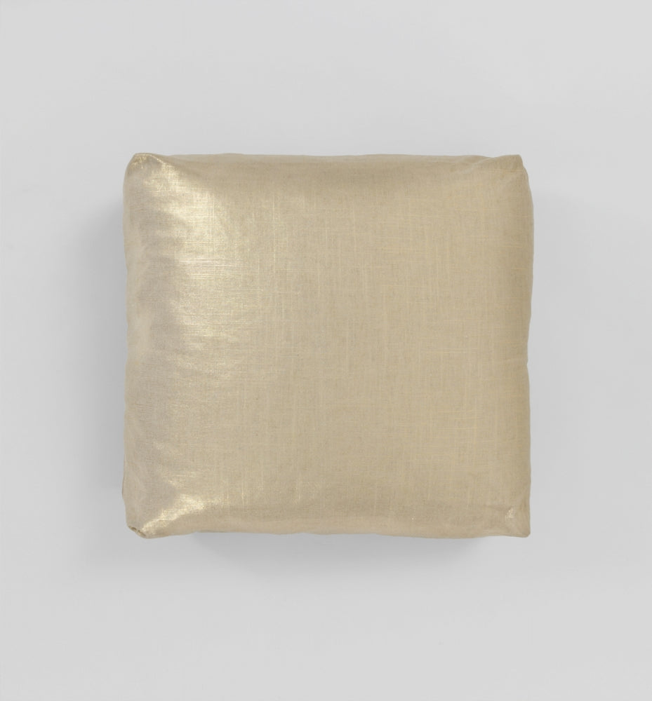 Gold Square Cushion - 55 x 55cm