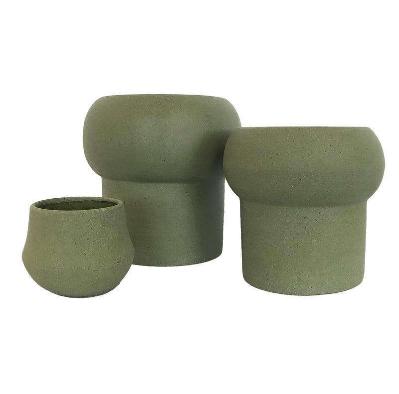 Jenssen Planter - Olive - Large