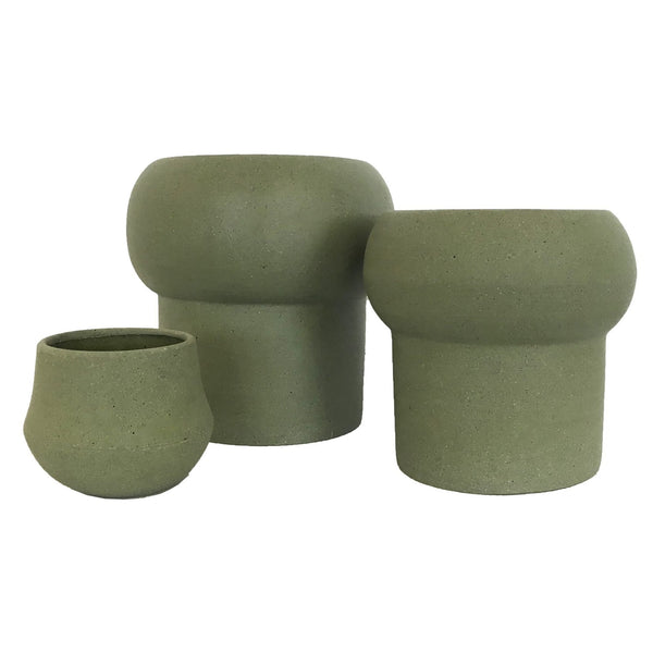 Jenssen Planter - Olive - Medium