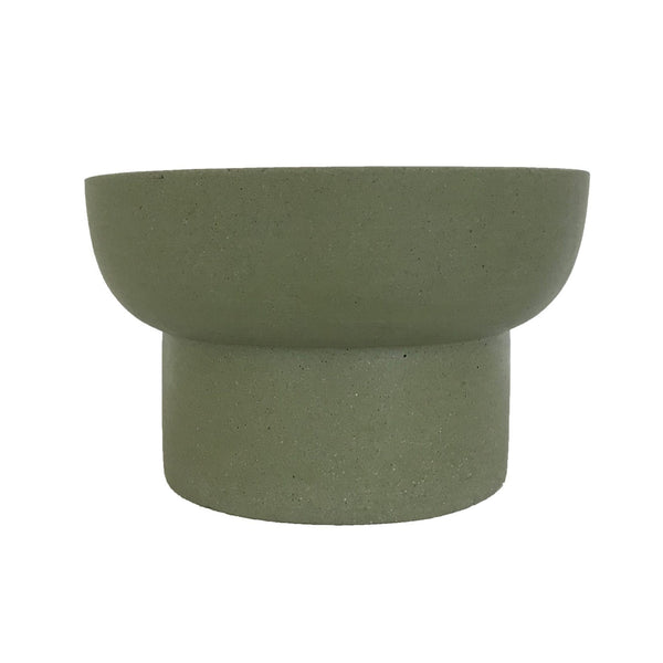 MRD HOME Jenssen Planter - Olive - Low