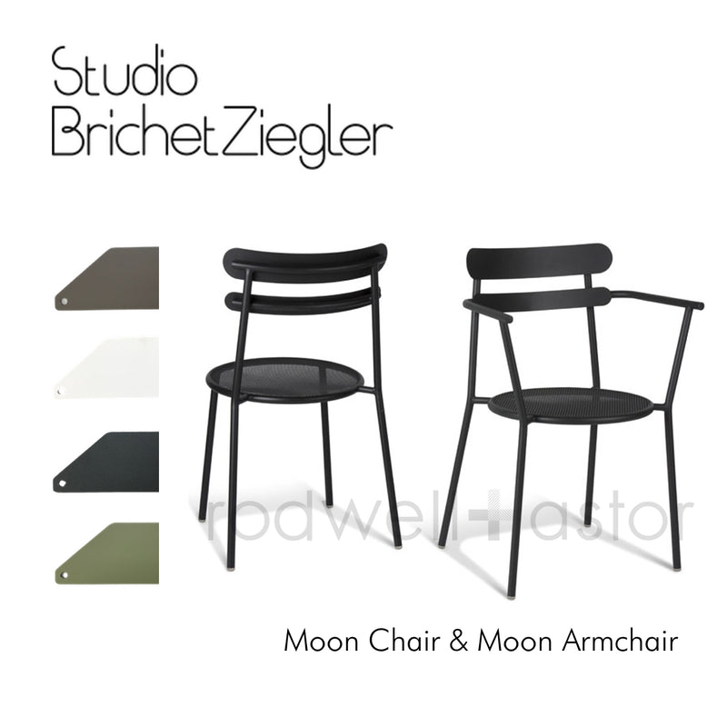 Moon Chair - Antic Iron - Studio Brichet Ziegler