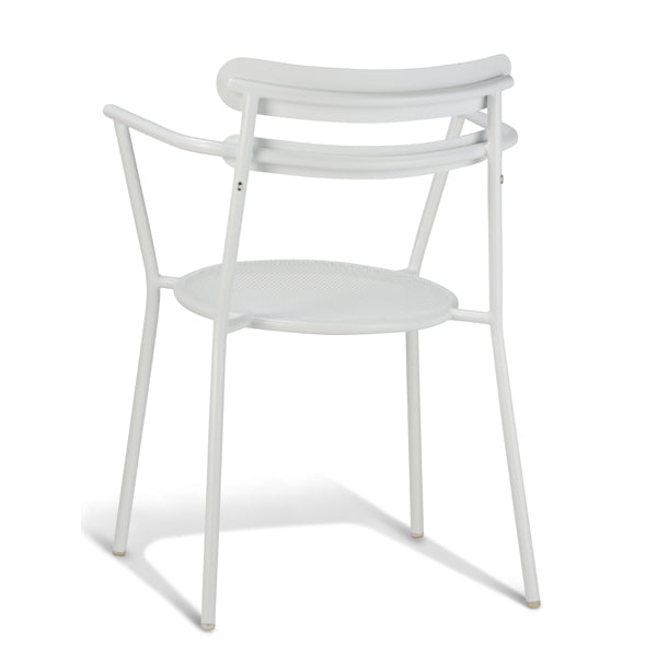 Moon Outdoor Armchair - White