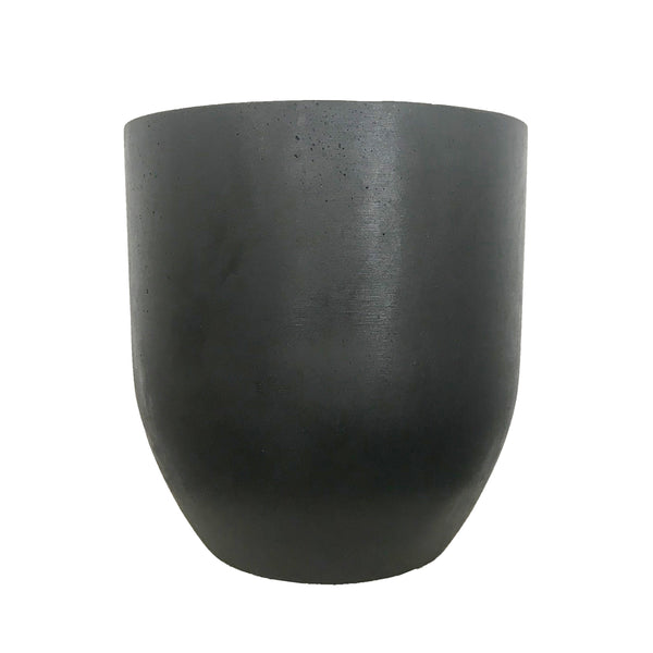 Silo Tall Planter - Black