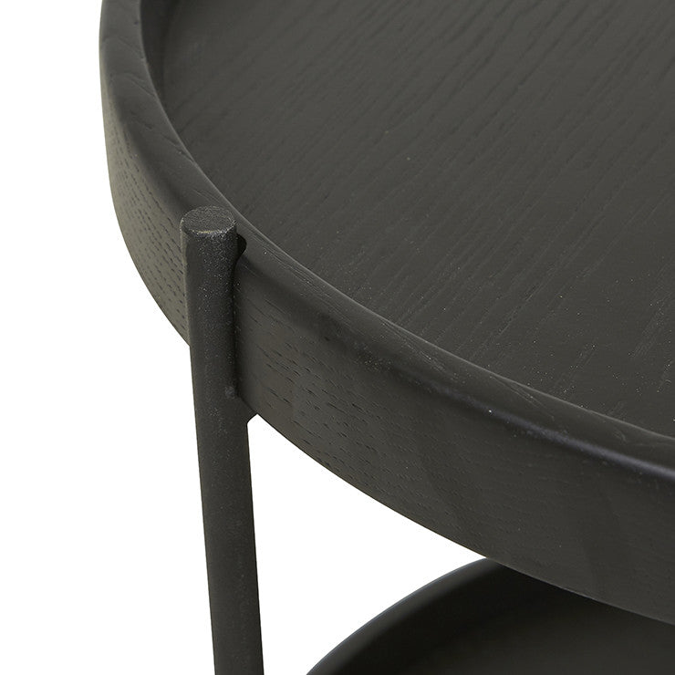 Sketch Humla Side Table - Black