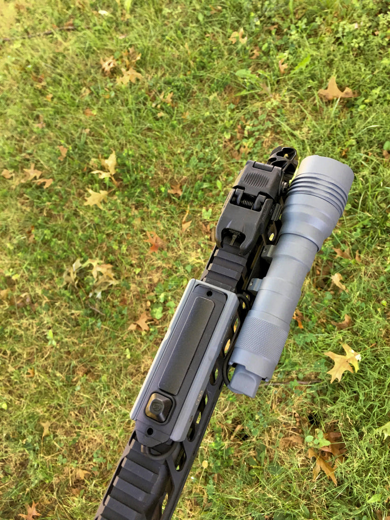 URBAN GREY - Streamlight ProTac HL-X Rail-Mounted Weaponlight and LCSmk2k Combo