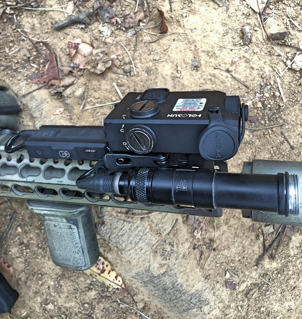 HSP/IWC Backbone 600 light body with LCSMK1 and Surefire UE07 - Combo