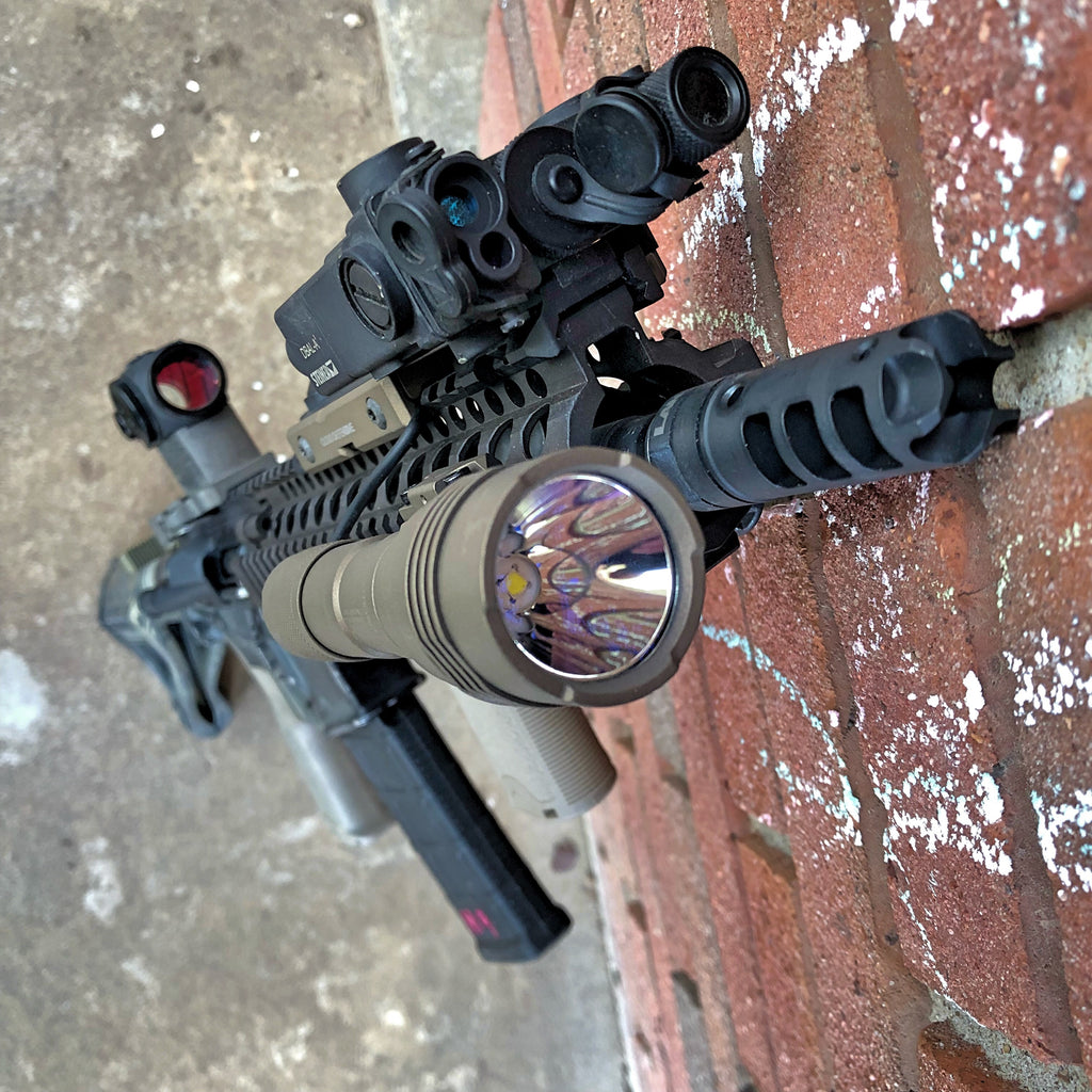 BURNT BRONZE - Streamlight ProTac HL-X Rail-Mounted Weaponlight and LCSmk2k Combo