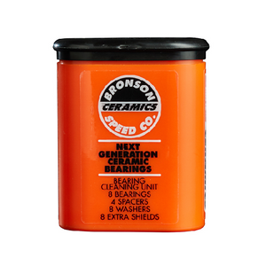 Bronson Speed Co Ceramic Bearings 8 Pack