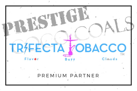 Prestige Hookah Coals from Trifecta Tobacco