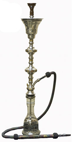 Khalil Mamoon 1001 Nights Double Ice Chamber Hookah Wholesale