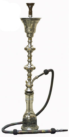 Khalil Mamoon 1001 Nights Double Ice Chamber Hookah