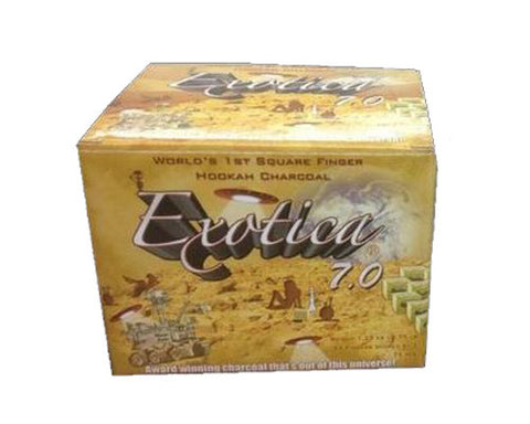 Exotica 75 Piece Natural Hookah Charcoal Wholesale