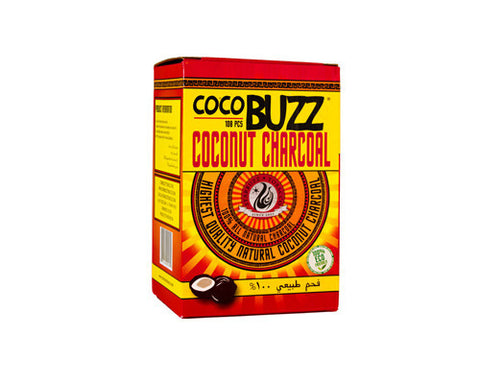 Starbuzz Coco Buzz Hookah Charcoal 108 Piece Wholesale