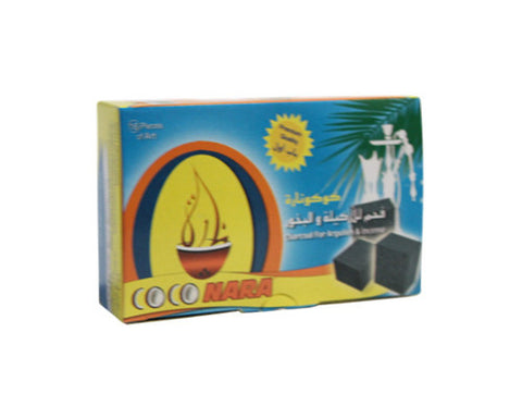 Coco Nara Hookah Charcoal 20 Piece Wholesale